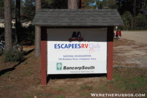 Becoming Texans via Escapees RV Club 3