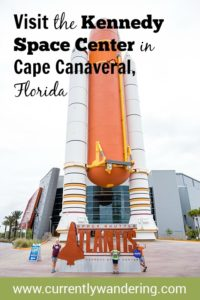 The Kennedy Space Center in Cape Canaveral, Florida 32
