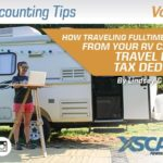 How Traveling Full-Time & Working from your RV Affects Travel Expense Tax Deductions 23