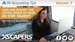Can You Deduct the Office Space in Your RV on your Taxes? 10