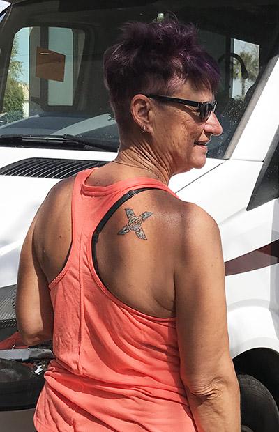 Sondi Cuddy Tattoo