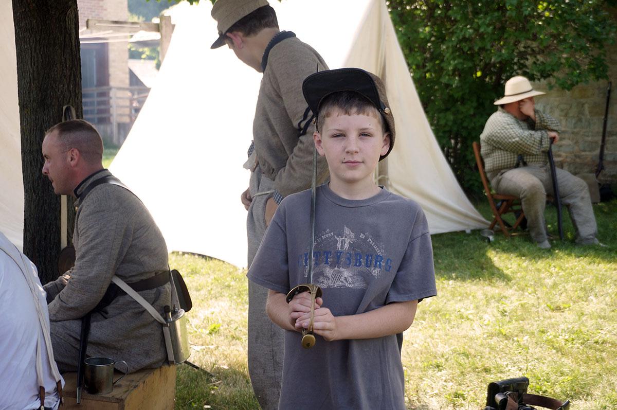 Roadschooling at Gettysburg