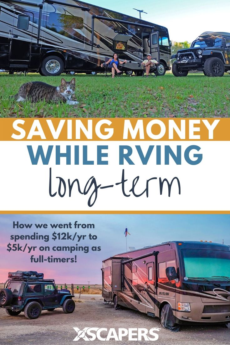 Saving money while RVing full-time