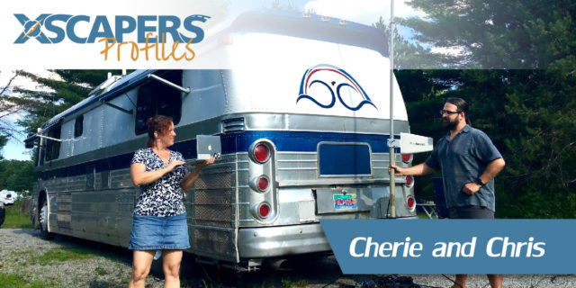 Xscapers Profile - Cherie and Chris