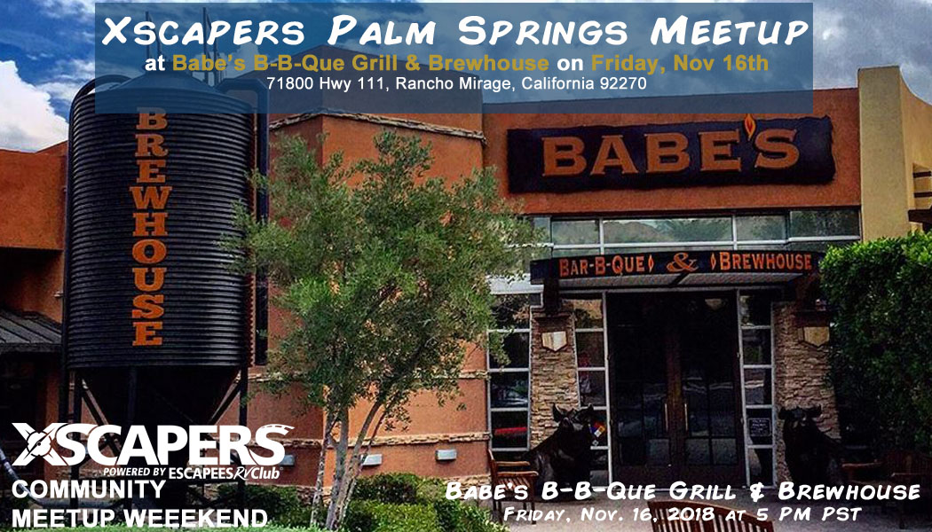 Palm Springs, CA Community Meetup 1