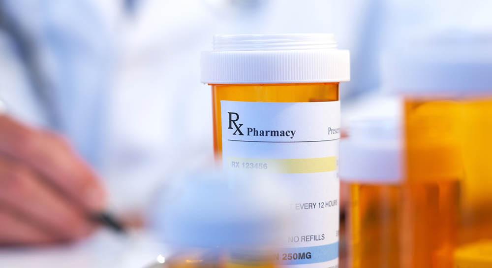 Doctor with RX prescription
