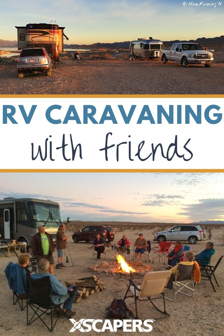 RV Caravaning with friends