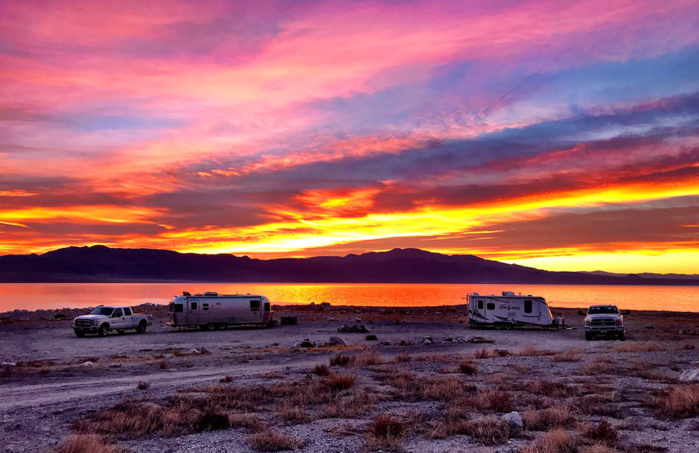 Boondocking in Nevada