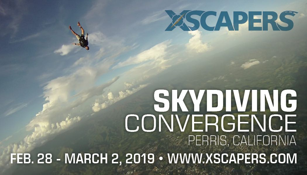 Skydiving Convergence 1