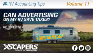 Can Advertising on my RV Save Taxes? 12