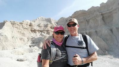 Dan and Lisa hiking