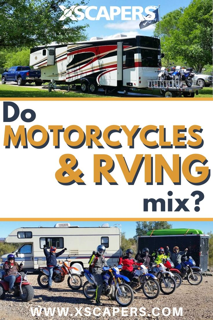 Do Motorcycles and RVing Mix? 5
