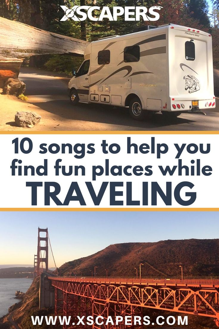 Ten Songs To Help You Find Fun Places While Traveling 8