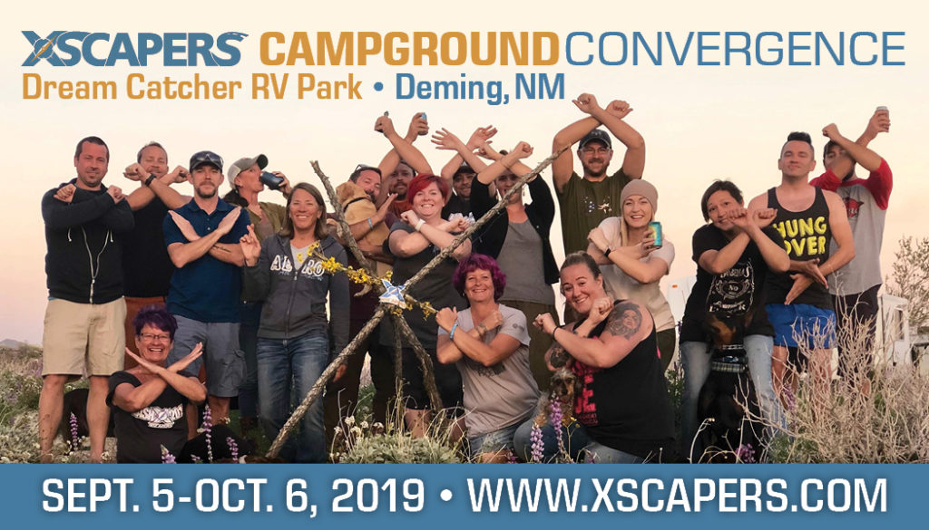Xscapers Campground Convergence Cover Image