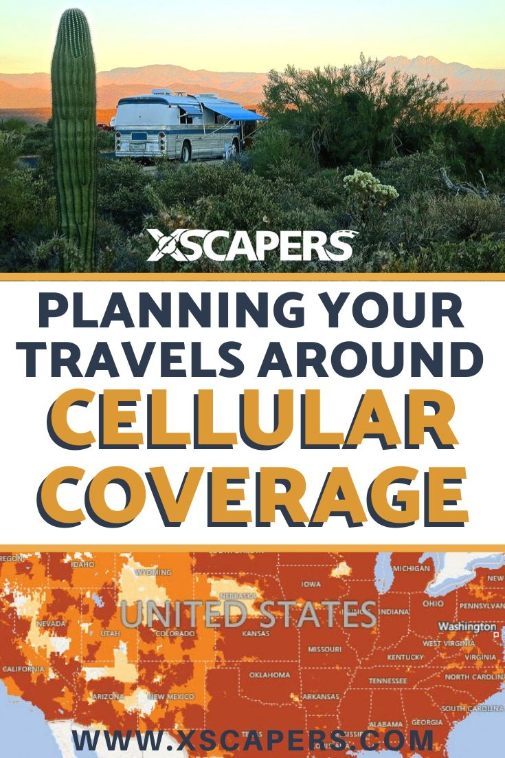 Planning Your RV Travels Around Cellular Coverage 1