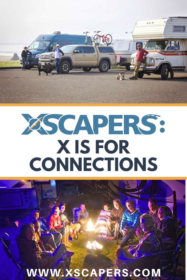 Xscapers: X is for Connections 1