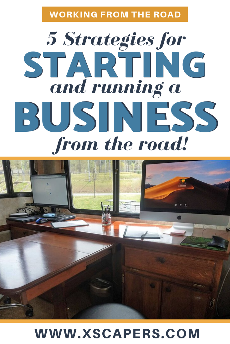 5 Strategies for Running and Starting a Business from the Road 2