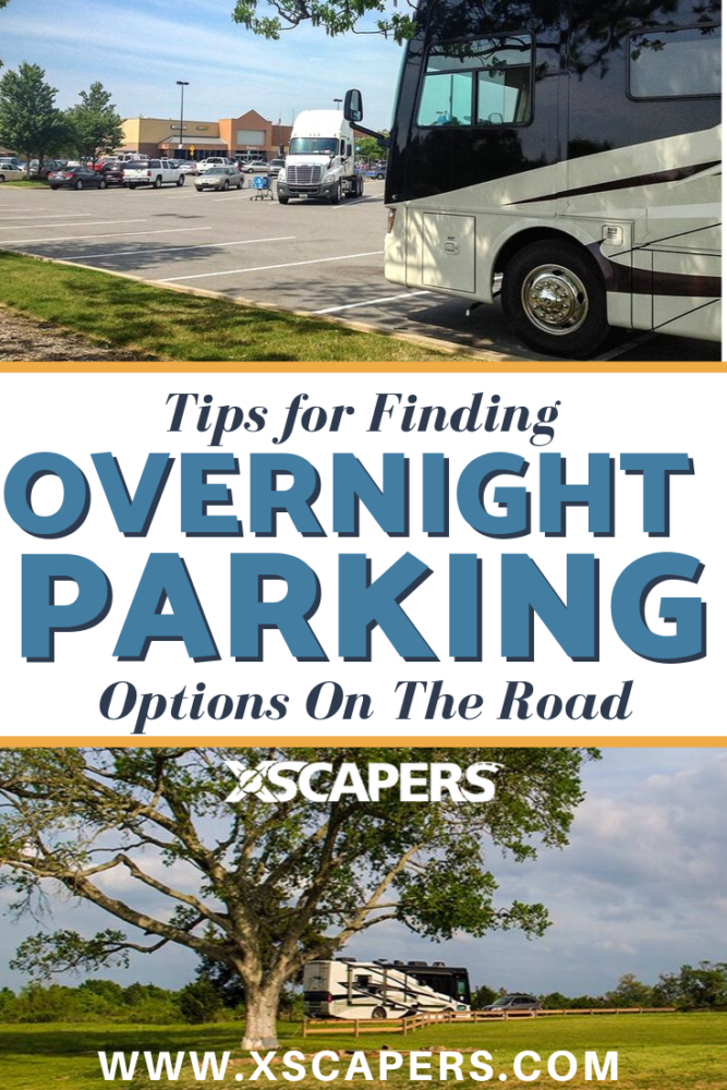 Finding Overnight Parking Options on the Road 1