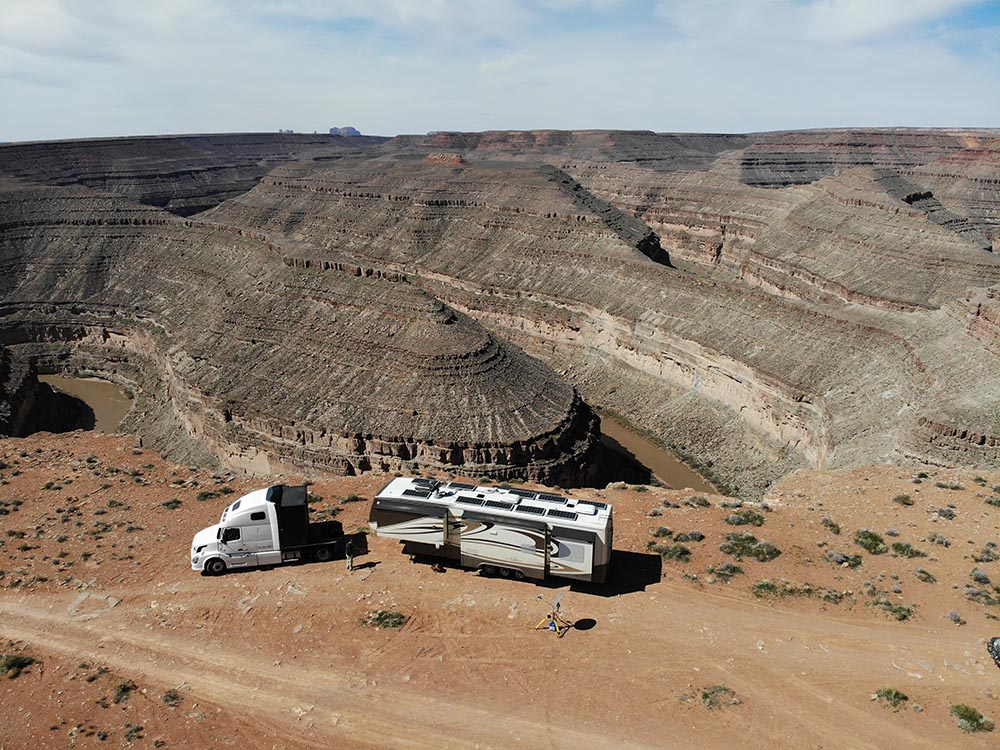RV Satellite Internet at Gooseneck BLM