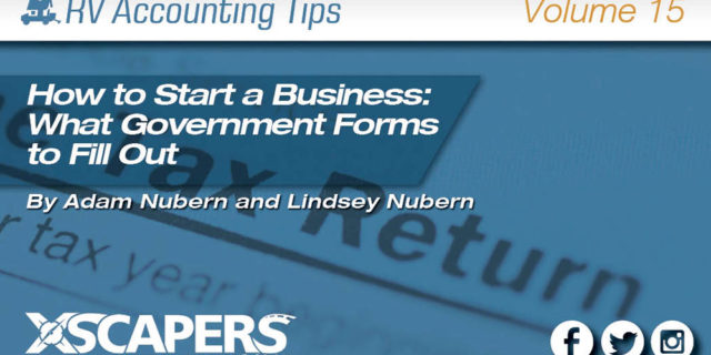 Accounting Tips: How to start a business.
