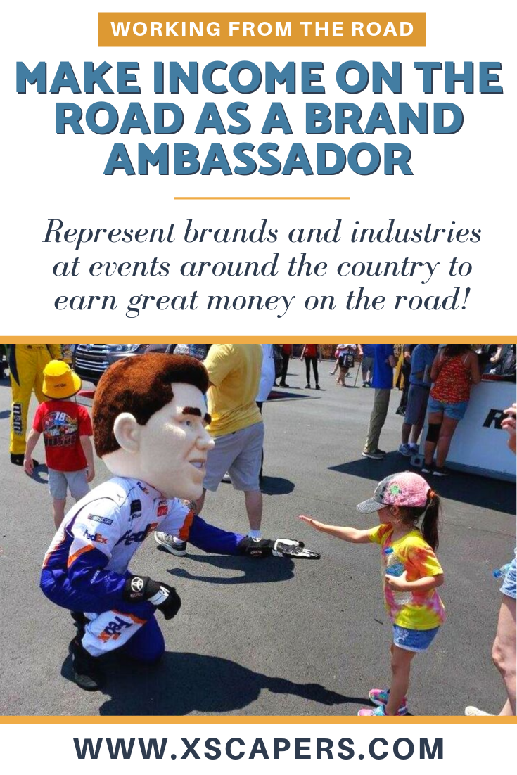 Make Income on the Road as a Brand Ambassador 3