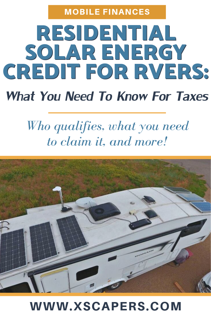 Residential Solar Energy Credit: What You Need to Know for Taxes 2