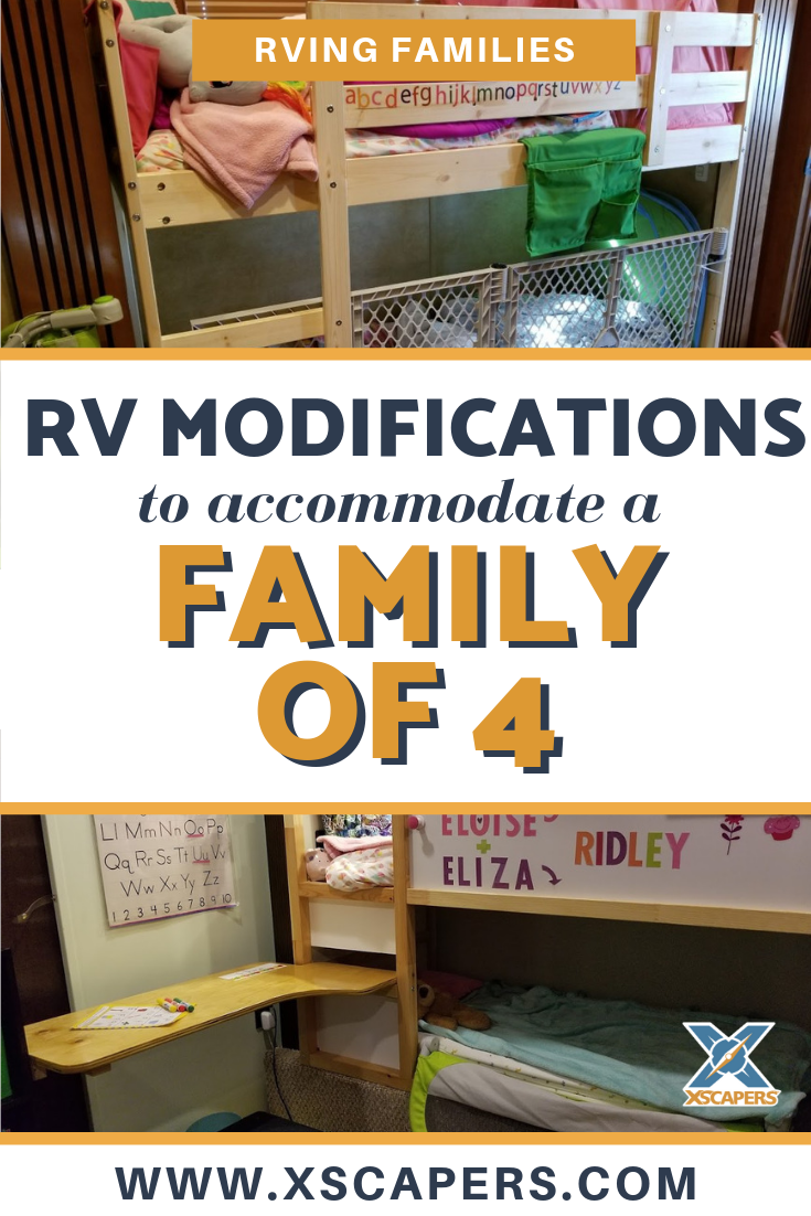 RV Modifications for a Family of 4