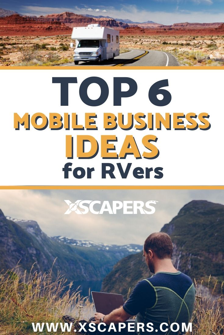 Top 6 Mobile Business Ideas for RVers 3