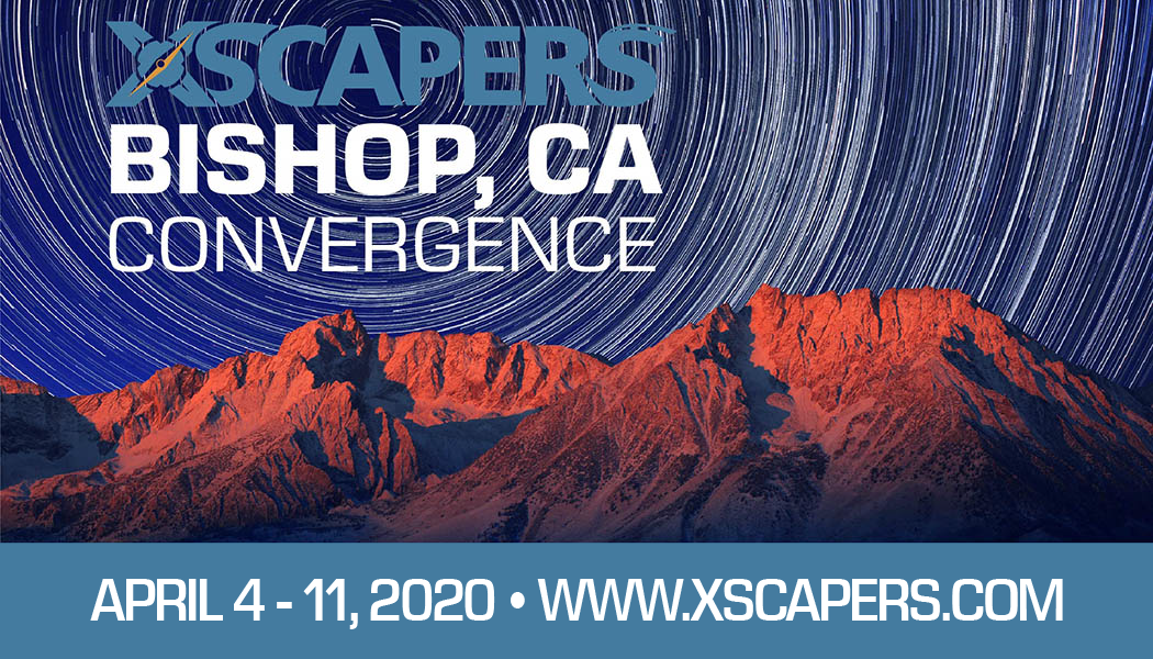 Xscapers Bishop Convergence-Hurry! Last day to purchase tickets is March 27th 9