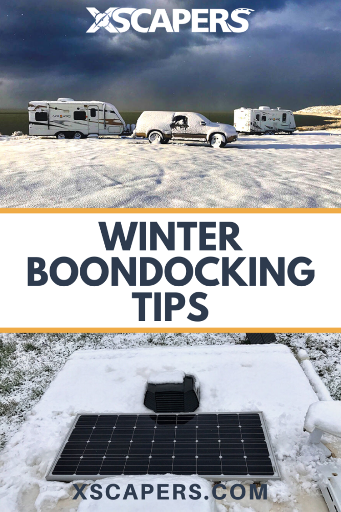 Winter Boondocking Tips 2