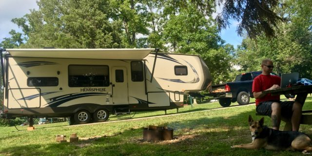 Working Remotely As A Full-Time RVer: Advice From RVing Remote Workers 111