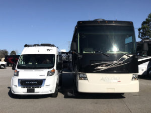 Downsizing RVs: From Class A to Van Life 1