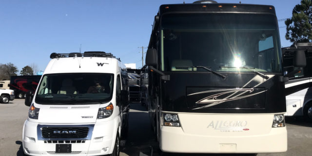 Downsizing RVs: From Class A to Van Life 102