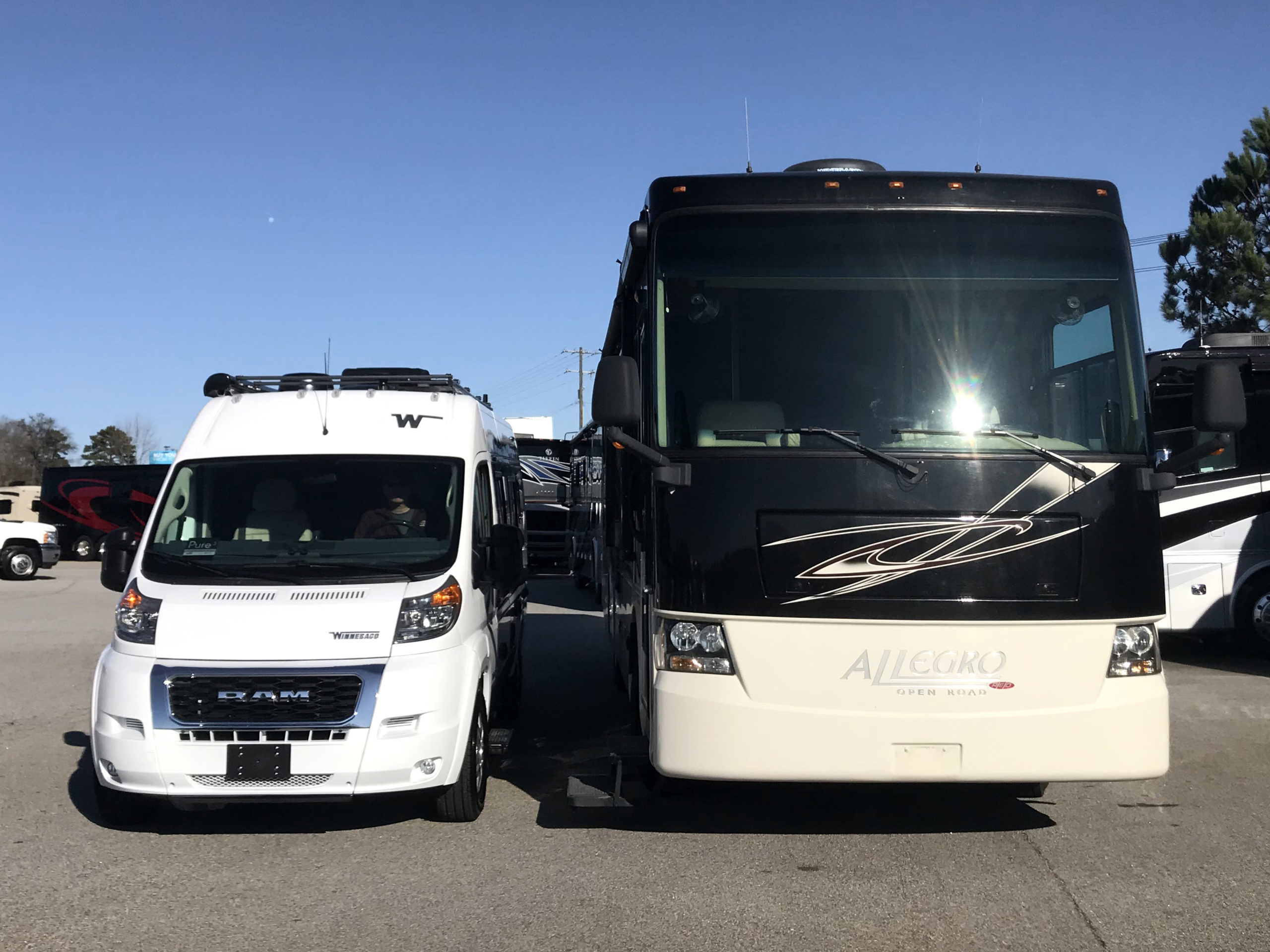 Downsizing RVs: From Class A to Van Life 3
