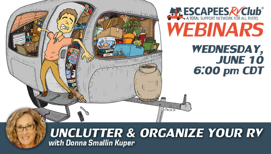 Unclutter and Organize Your RV header