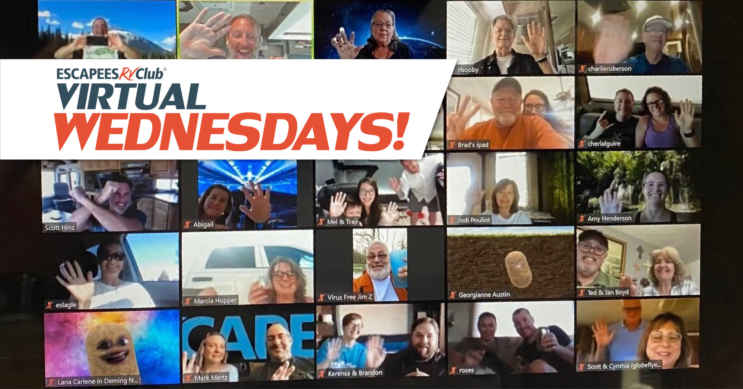 Virtual Wednesdays- Fun, online events! 8