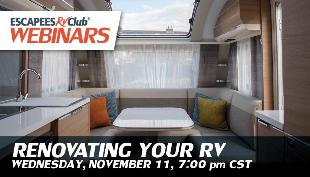 Renovation Your RV Webinar header