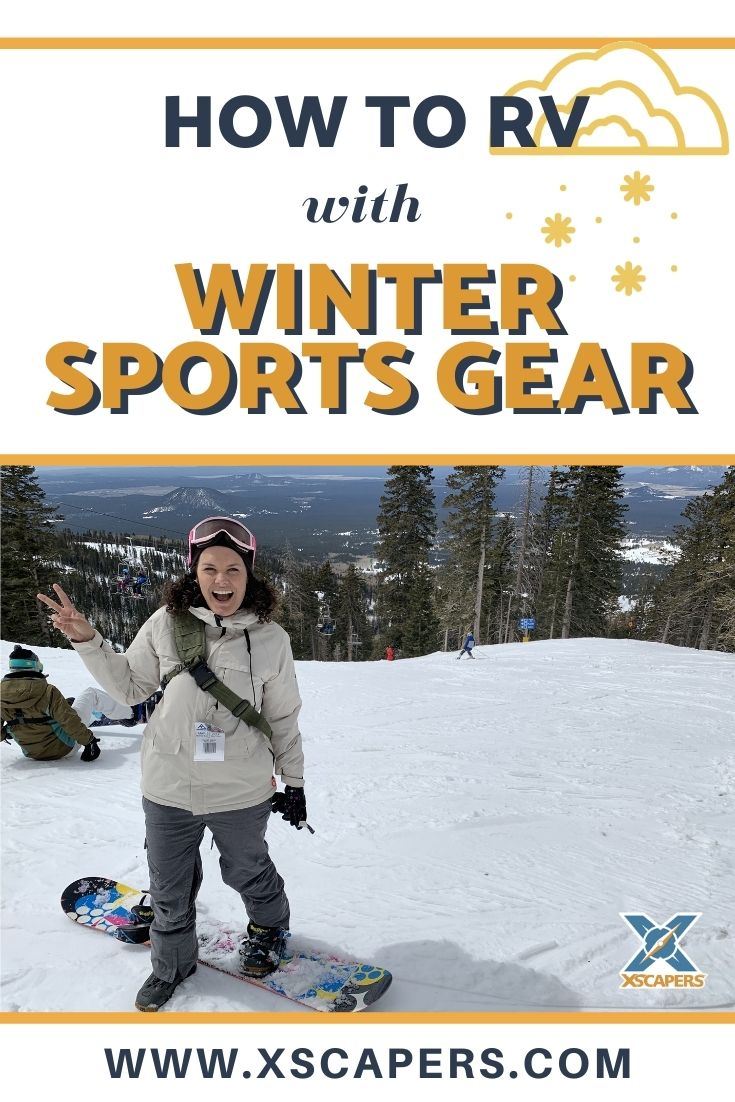 RVing with Winter Sports Gear 1