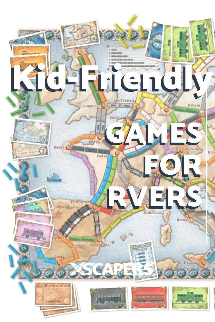 Kid-Friendly Games for RVers 17