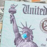IRS check representing Economic Injury Disaster Loan