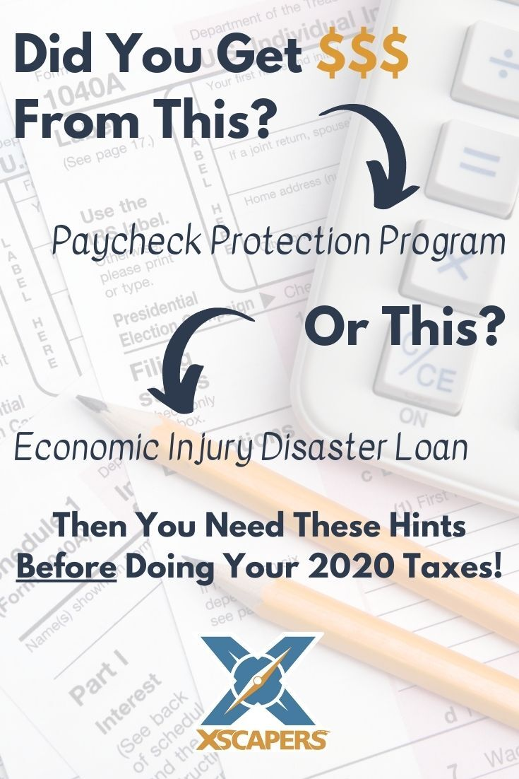 Recent Changes to Paycheck Protection Program & Economic Injury Disaster Loans 1