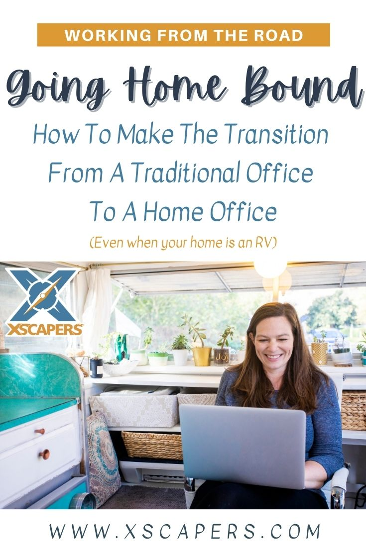 Transition to Working from Home Pinterest
