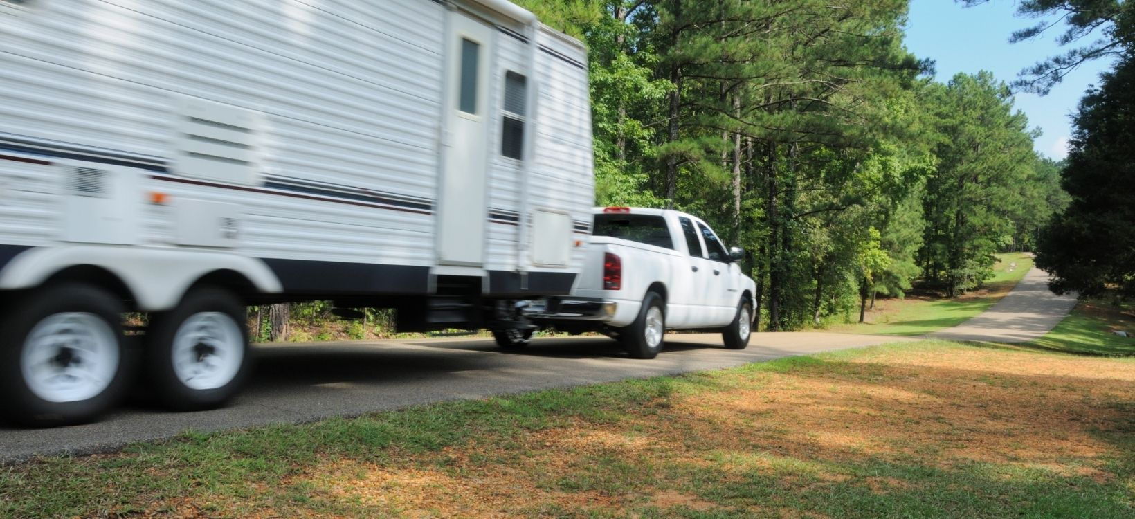 Towable RVs are one of many types of RVs on the road today.