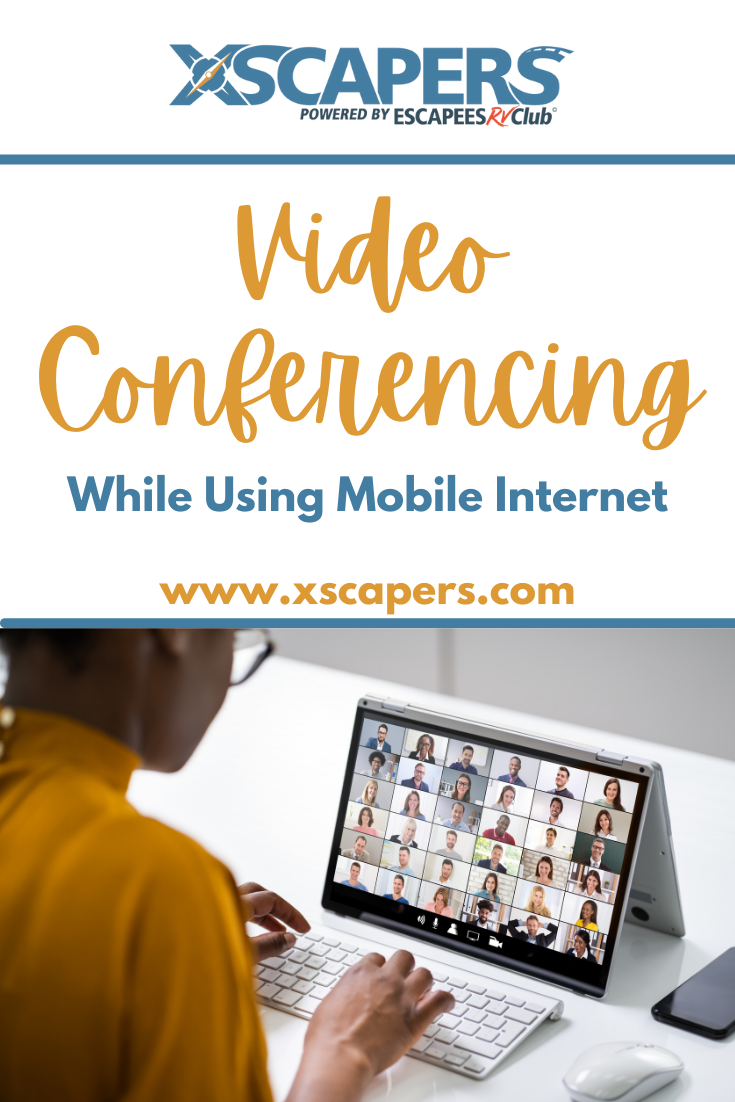 video conferencing while using mobile internet